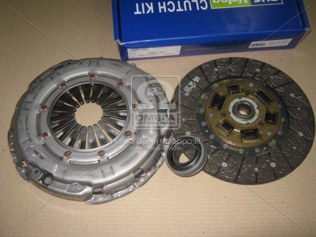 Комплект сцепления Kia Cerato 2005-2009 (1.6 CRDI) VALEO PHC