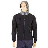 Ветровка ветрозащитная спортивная куртка для бега Under Armour 96601A-BK