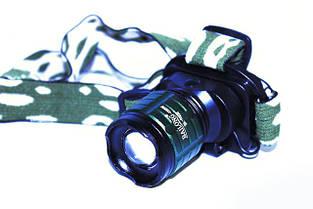 Фонарик налобный фонарь Bailong BL-6808 20000W, фото 2