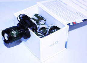 Фонарик налобный фонарь Bailong BL-6808 20000W, фото 3