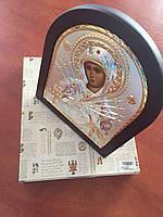 Икона Семистрельная Silver Axion (Греция) Серебряная с позолотой 55 х 70 мм