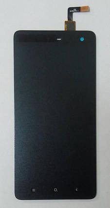 Модуль (сенсор+дисплей) для Xiaomi Mi4 original чорний, фото 2