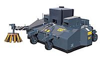 Щетка подметальная с уборочным бункером для лопаты/ ковша/телескопических систем - SPR