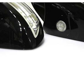 Корпуса зеркал с повторителями поворотов Hyundai Santa Fe до 2005г