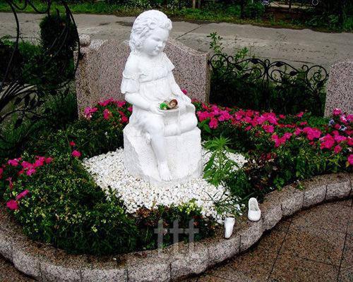 Детский памятник  Ангел № 34