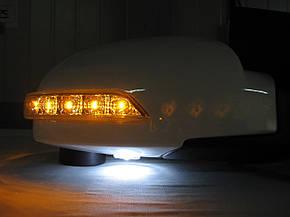 Корпуси дзеркал з повторювачами поворотів Hyundai Grandeur TG(Azera), фото 2