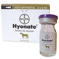 Хионат 2 фл. по 2 мл для лечения заболеваний суставов у лошадей Байер