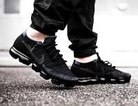Мужские кроссовки Nike Air Vapormax Flyknit черные