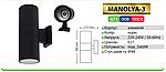 Светильник MANOLYA-3   IP44 2xE27, фото 2