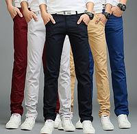 Штаны мужские черного цвета размеры 30-40