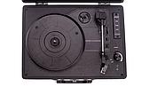 Граммофон  BUSH   ретро чемодан  голубой, фото 2