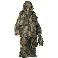 Военный маскировочный костюм Ghille / Костюм GHILLIE Digital Woodland HELIKON