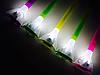 Газонный светильник на солнечной батарее, цветок в ассортименте