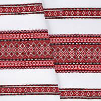 Декоративная ткань с украинским орнаментом ТД-11 (1/1)  от 1 м/пог