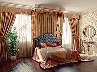 """Кровать с подъёмным механизмом """"Катрин"""" Corners (классическая с высоким изголовьем)"""