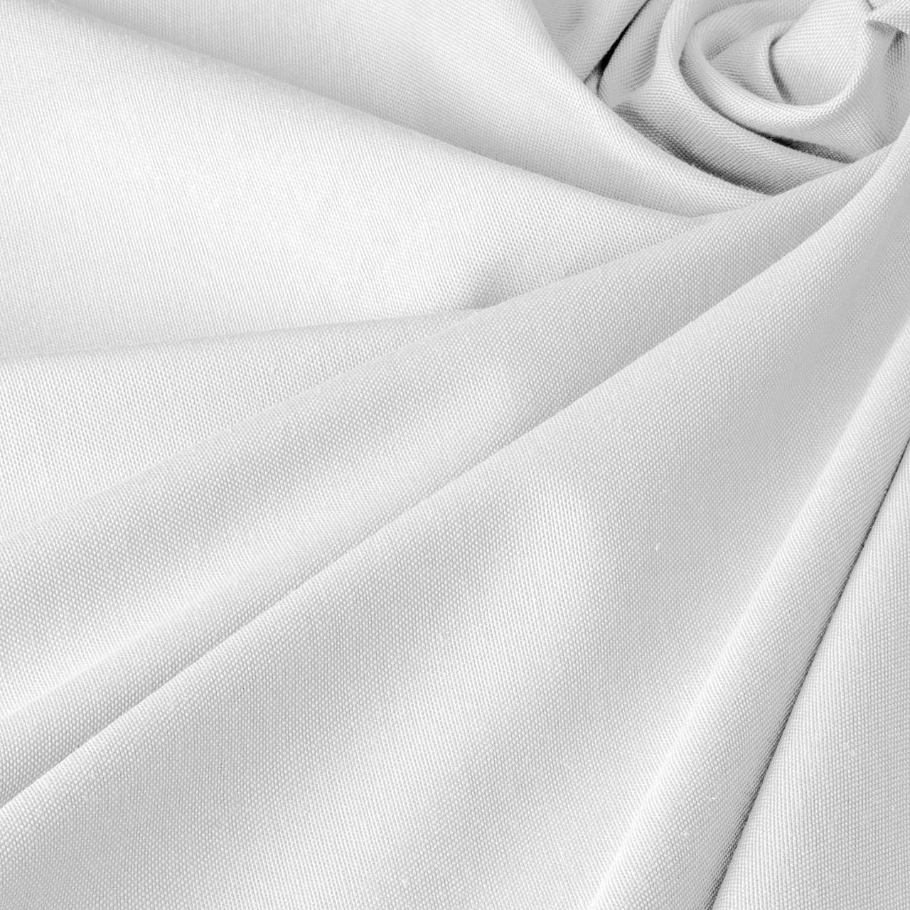 Ткань для штор и скатертей Teflon DRB v35 белый