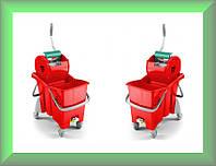 Ведро для уборки с отжимом ACTION PRO 30л 0R006484 TTS Италия