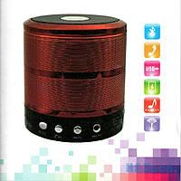 Стильная портативная колонка-плеер WS-887 Bluetooth Speaker с FM-тюнером