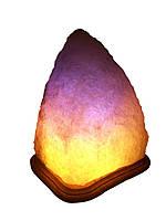 Соляная лампа Скала 6-8 кг Белая,цветная лампа, фото 1