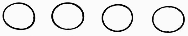 Прокладка впускного колектора (комплект 4 шт) DACIA/RENAULT Logan,Sandero,Kangoo 1,4-1,6 00- PAYEN, JD5315