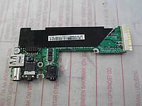 Плата с гнездом питания, аудио и USB BA41-00358A, Samsung X05