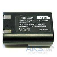 Аккумулятор для фотоаппарата Canon NB-5H (750 mAh)