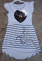 Платье летнее для девочки 110-128р.