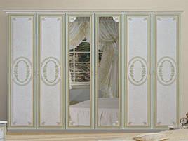 Шафа (шкаф) з ДСП/МДФ в спальню/вітальню/дитячу беж Прімула 6Д Миро-Марк