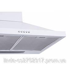 Кухонна витяжка LAZIO 60 WH (750) VentoLux, фото 2