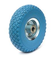 Колесо пенополиуретановое диаметр 260 мм, нагрузка 125 кг, с металлическим диском