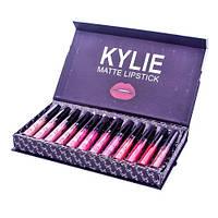Kylie matte lipstick Набор матовых помад  12 шт