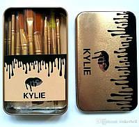 Kylie кисточки большие черные/золото/серебро -    12 штук, фото 1