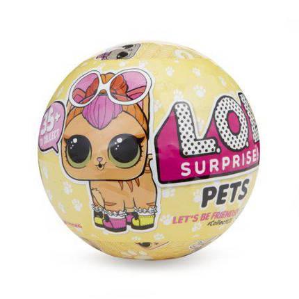 Кукла LoL Surprise Pets 3 серия ЛОЛ питомцы 1шт, фото 2