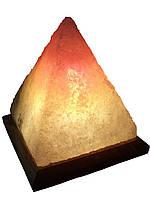 Соляная лампа «Пирамида Египетская» 4-5 кг.Белая,цветная лампа