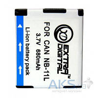 Аккумулятор для фотоаппарата Canon NB-11L (680 mAh) BDC2434 ExtraDigital
