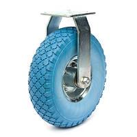 Колесо пенополиуретановое с неповоротным кронштейном, диаметр 260 мм, нагрузка 135 кг