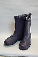 Сапоги женские резиновые синие Дрим Стан, фото 1