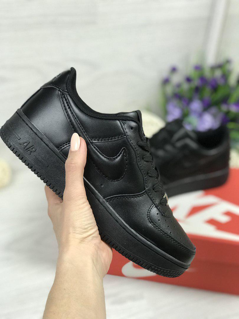 04c53802 Я в шоке!™ | Кроссовки женские черные Nike Air Force 4706. Цена ...