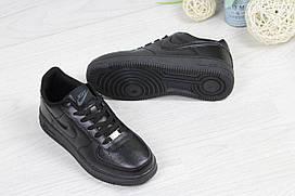 Кроссовки женские черныеNike Air Force 4706