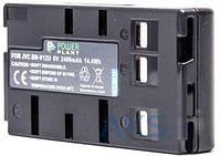 Аккумулятор для фотоаппарата JVC BN-V12U, BN-V14U, VW-VBS1E, VW-VBH1E, VW-VBS2E, NP-77 (2400 mAh) DV00DV1194 PowerPlant
