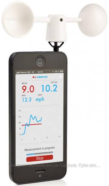 Анемометр для смартфонів TFA 42600202 . Суперновинка