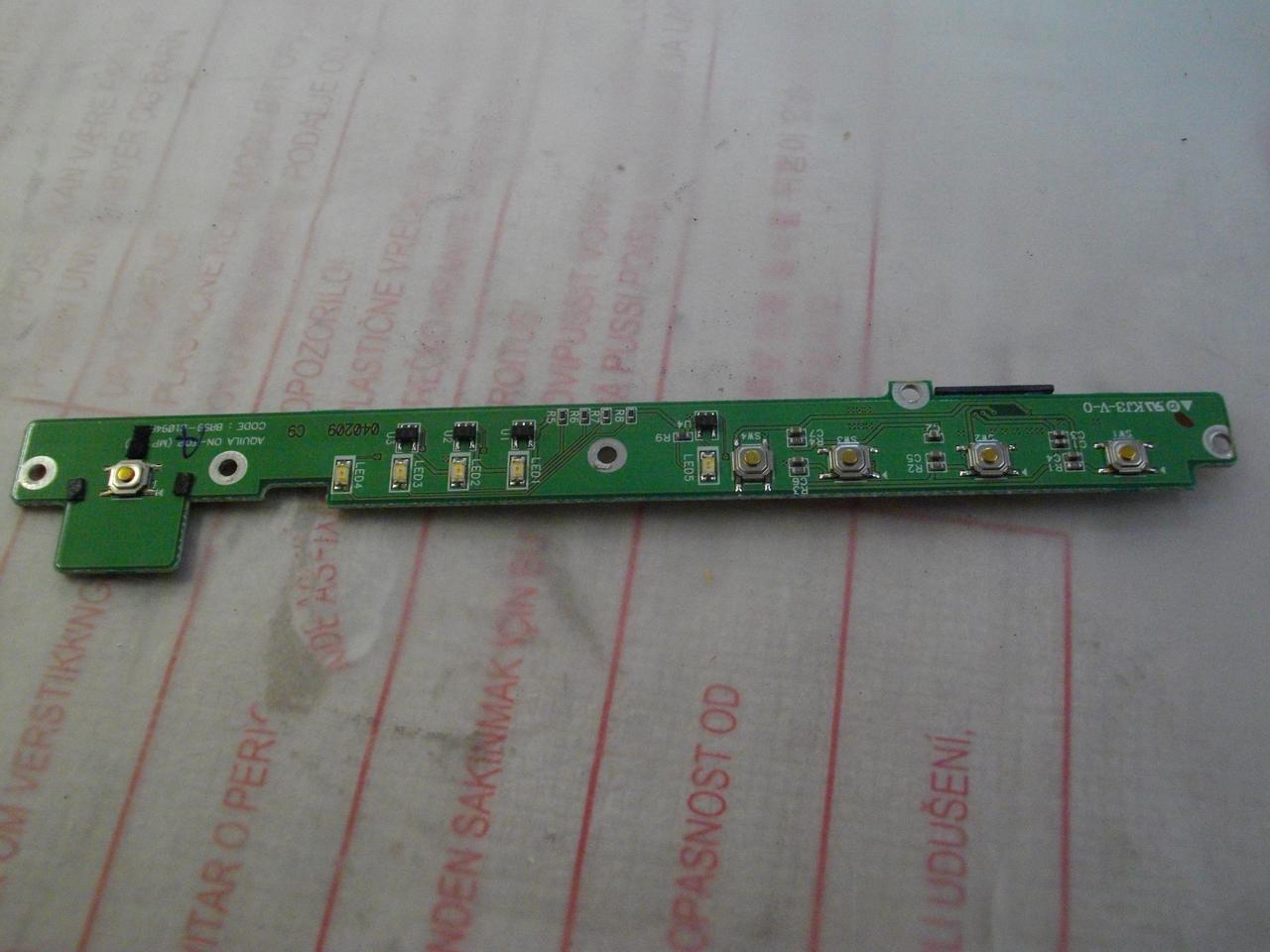 Плата з кнопками і індикацією BA59-01094A, Samsung X05
