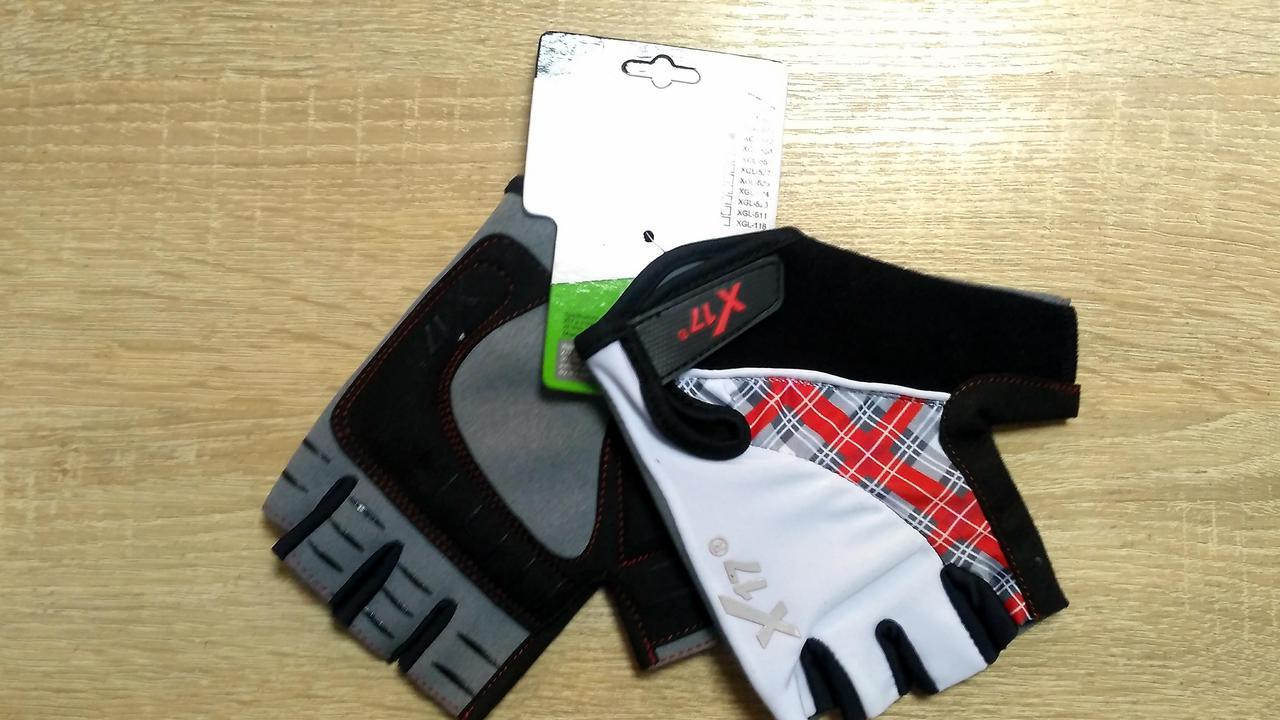 Велоперчатки X17 XGL-573WH