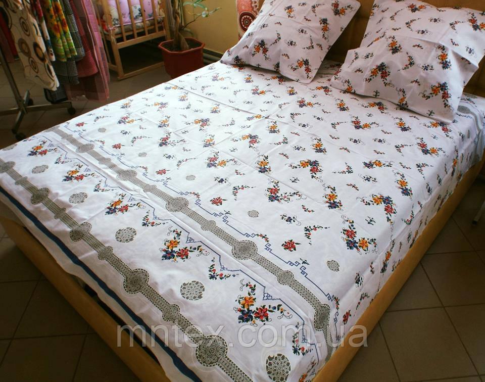 Комплект постельного белья бязь Голд Вышиванка