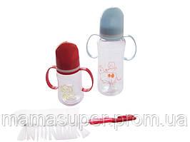 Набор детских бутылочек для кормления 3в1 (для мальчика)
