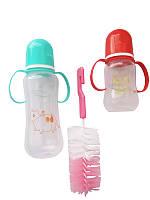 Набор детских бутылочек для кормления 3в1 (для девочки)