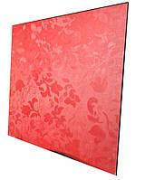 Керамическая панель Серия Picasso белый, красный с терморегулятором 475 Вт ТМ Камин