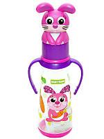 Бутылочка для кормления с силиконовой соской Baby Team № 1414, 250 мл