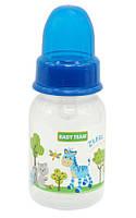 Бутылочка для кормления с силиконовой соской Baby Team №1110, 125 мл
