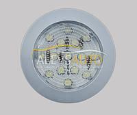 Точечный светильник для салона серый